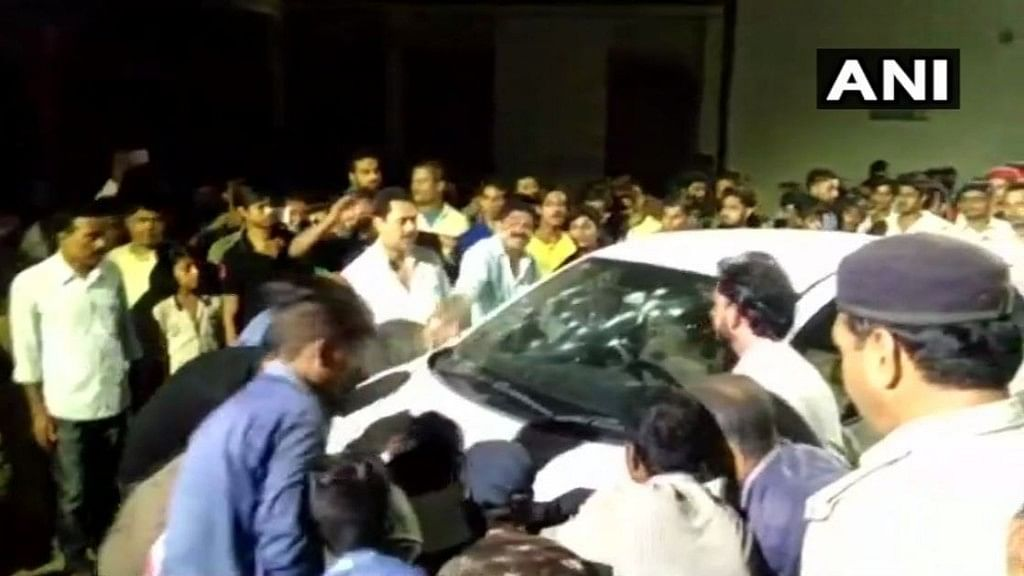 Samir Kumar, former mayor of the district, along with his driver, was shot dead by unidentified assailants.