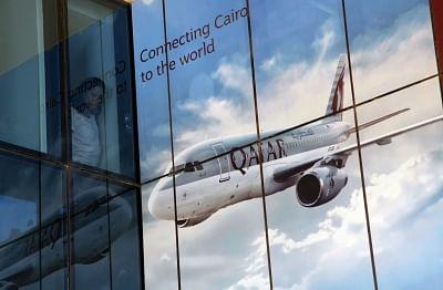 Qatar Airway. (File Photo: Xinhua/Ahmed Gomaa/IANS)