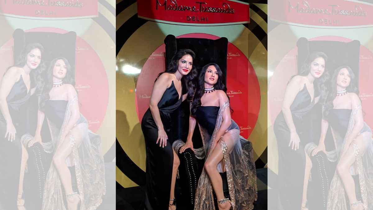 Sunny Leone was present at Madame Tussauds to unveil her wax statue.