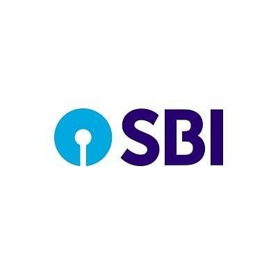 State Bank of India (SBI) logo.