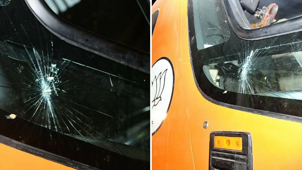 Nine Held for Allegedly Throwing Stones at MP CM Chouhan's Car
