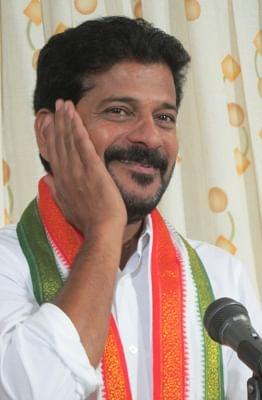 Congress leader A Revanth Reddy. (Photo: IANS)