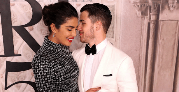 Priyanka Chopra and Nick Jonas reflect the afterglow of their engagement.