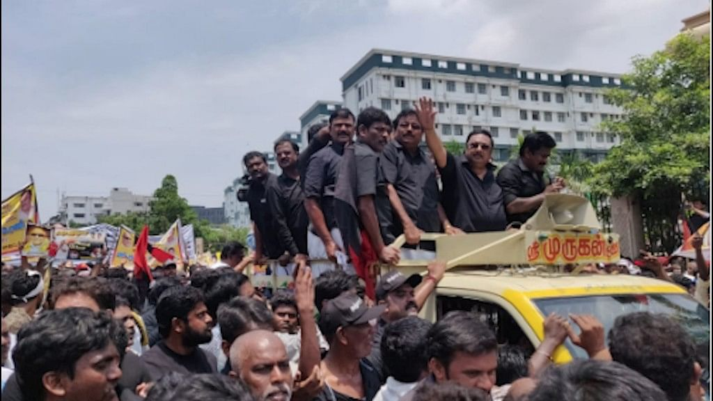 'No Agenda for Rally': Alagiri After Paying Respects to Kalaignar