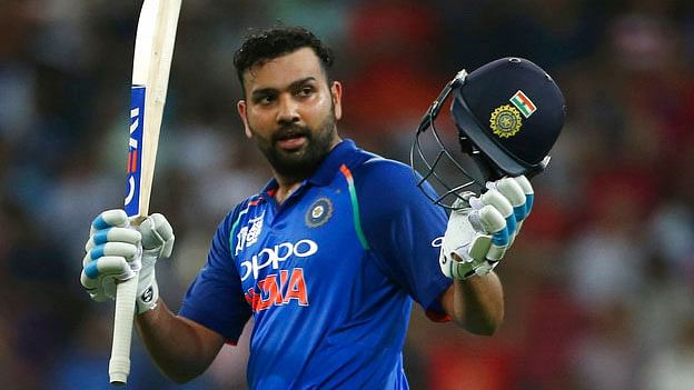 Rohit Sharma Becomes First Indian Man to Feature in 100 T20I