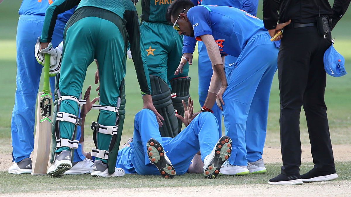 India all-rounder Hardik Pandya was ruled out of the Asia Cup after injuring his back during a match against Pakistan.