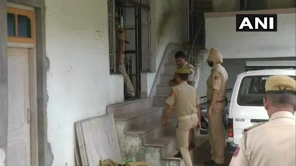 Nineteen children, including eight girls, have been rescued from an unregistered orphanage in Jammu and Kashmir's Kathua district during a raid.
