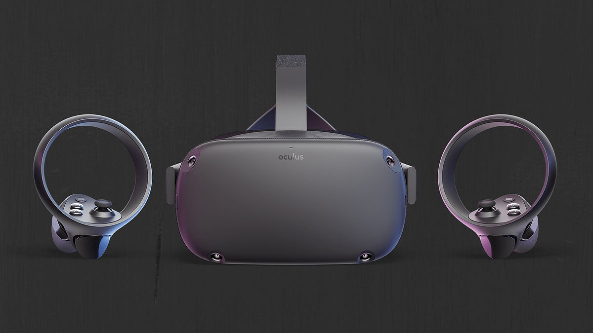 The Oculus Quest VR Headset.