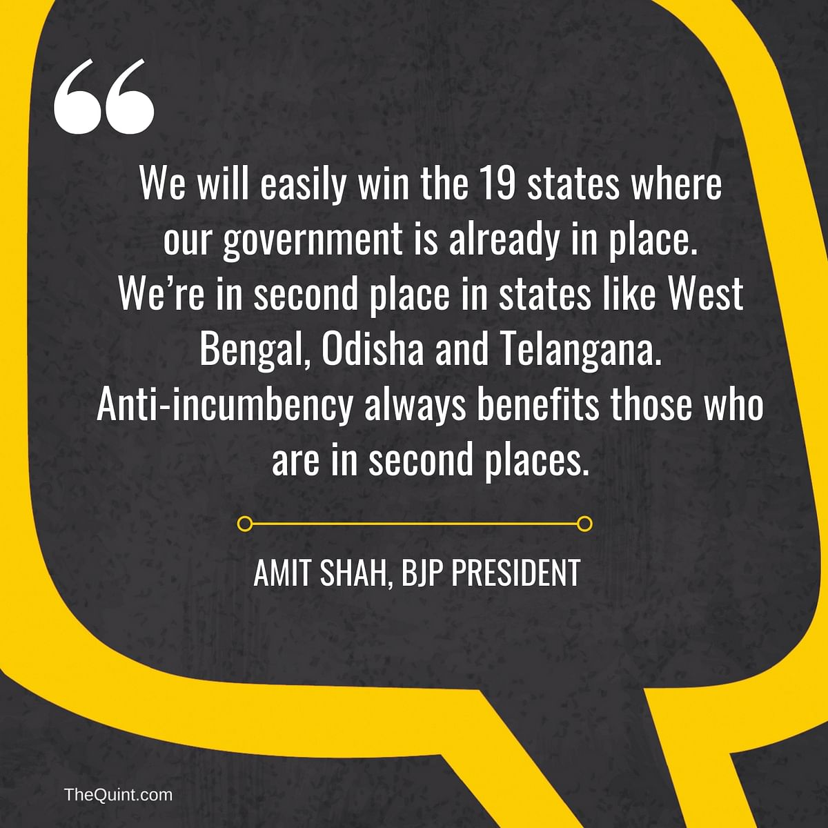 8 Things Amit Shah Said at the BJP National Executive Meet