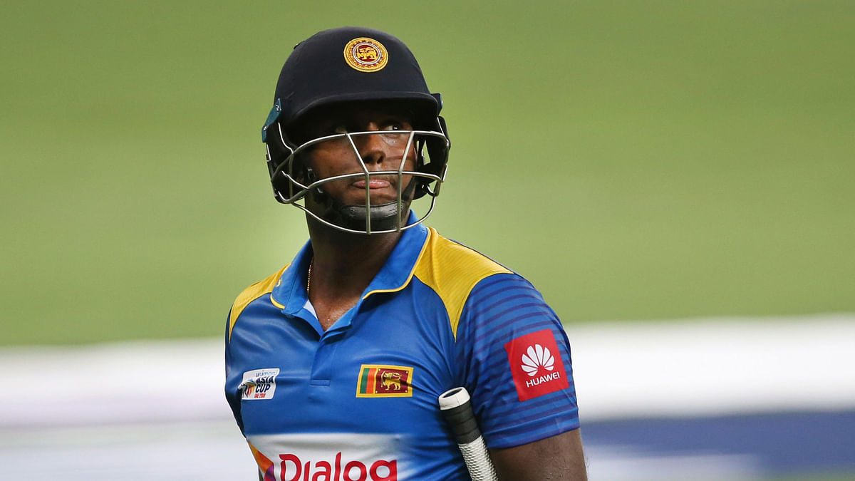Angelo Mathews Loses Captaincy Post Sri Lanka's Exit From Asia Cup