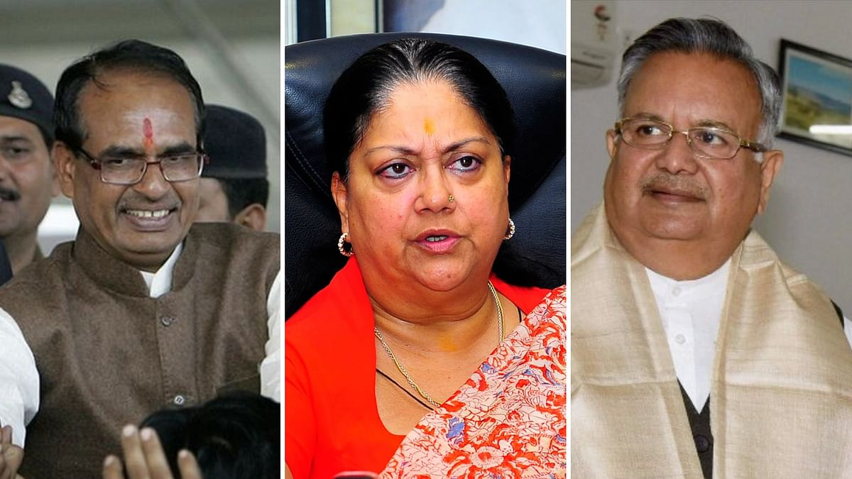 Raje, Gehlot Neck & Neck in Rajasthan Polls: Axis My India Survey