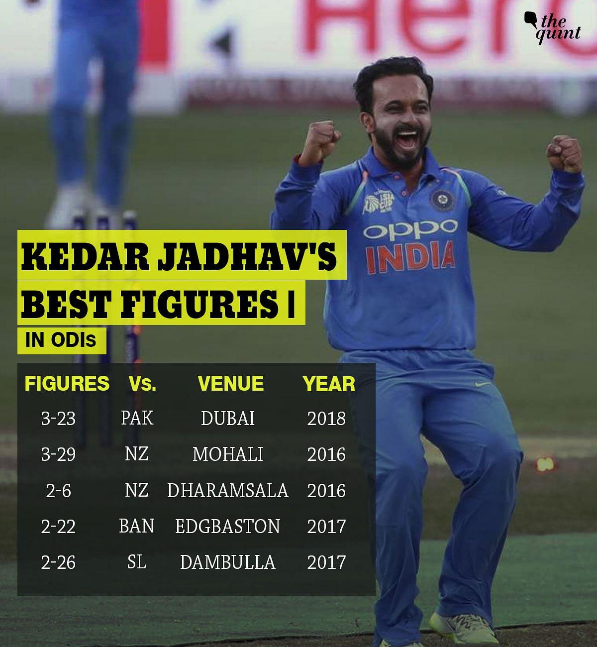 In Stats: Bhuvi & Kedar's Magic, Rohit's Fastest 50 Help India Win