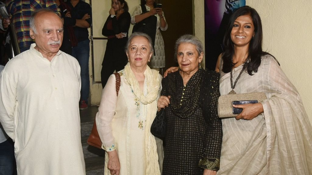 Manto's Daughters Attend Premiere of their Father's Biopic 'Manto'