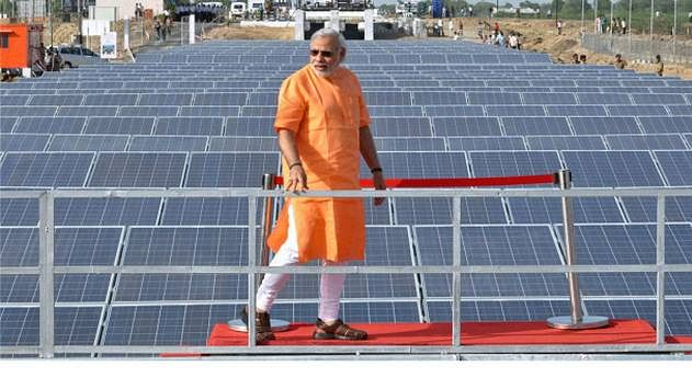 PM Modi was honoured with the 'Champions of the Earth Award' for his leadership of the International Solar Alliance and pledge to eliminate single use plastic in India by 2022.