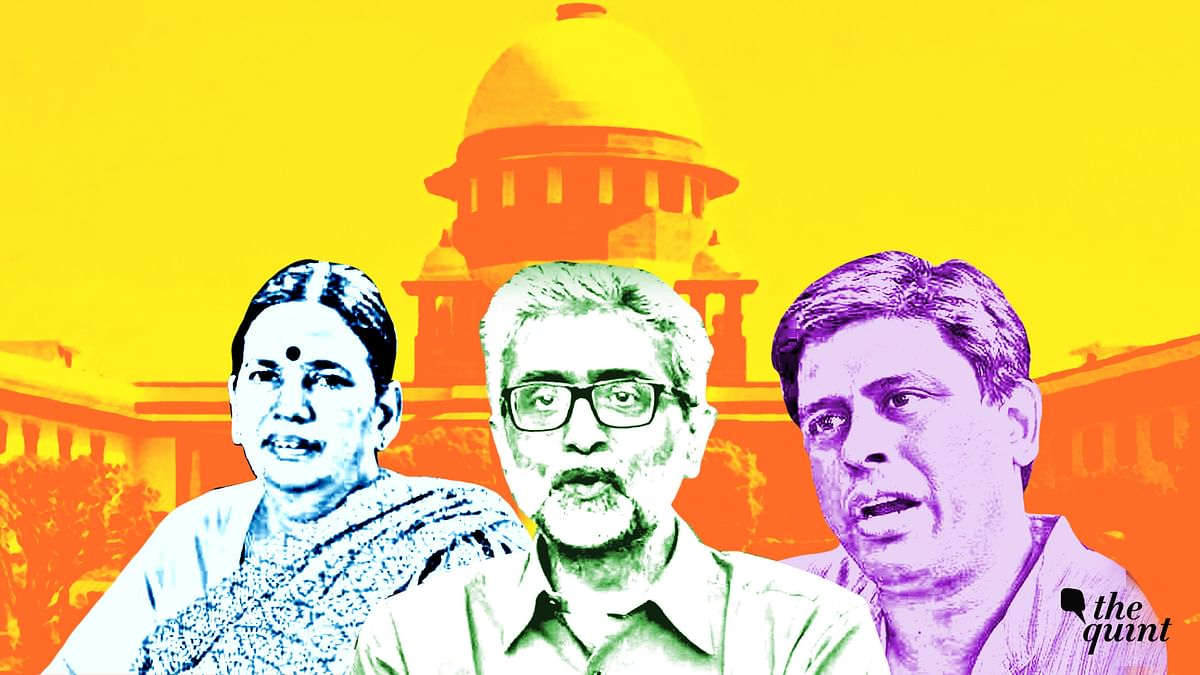 Bhima Koregaon Activists' House Arrest to Continue for 4 Weeks: SC
