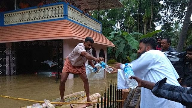 Catholic priest thanks the Muslim Community for selflessly feeding the flood victims who had taken shelter at his church. (Image used for representational purposes)