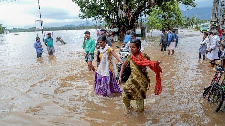 Heavy rains devastated Kerala in August.