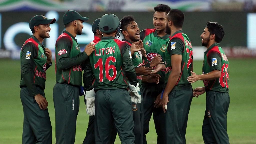 Bangladesh bowled out Sri Lanka for 124 in 35.2 overs.