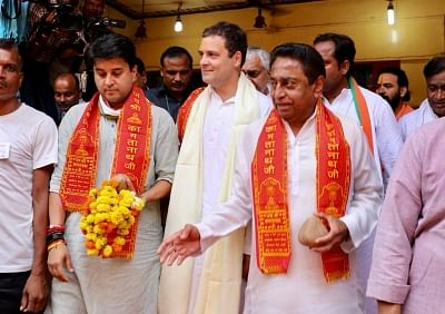 'Sonia Gandhi to Decide Next MP Cong Chief': Jyotiraditya Scindia