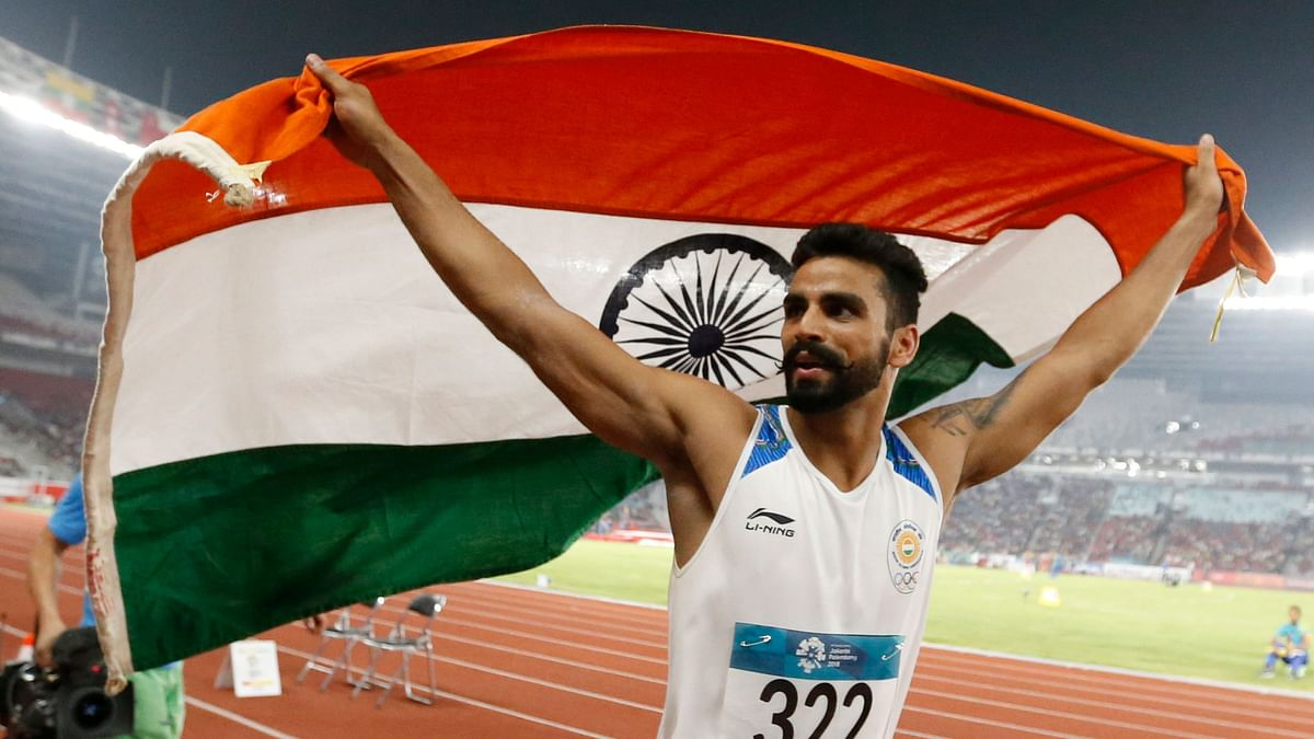 Triple jumper Arpinder Singh created history by becoming the first Indian to win a medal in the IAAF Continental Cup.