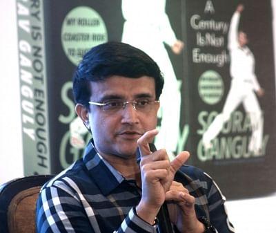 Former cricketer and Cricket Association of Bengal (CAB) president Sourav Ganguly  (Photo: Bidesh Manna/IANS)