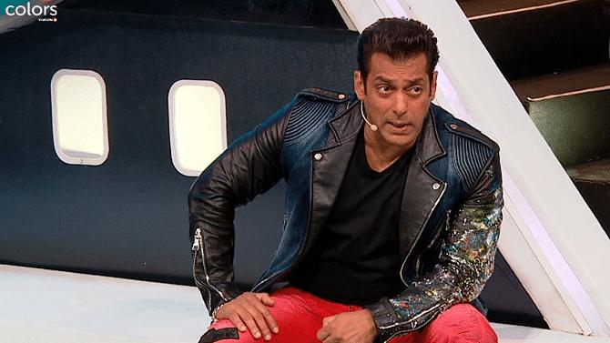 Salman Khan on <i>Bigg Boss</i>.