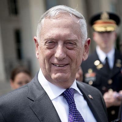 U.S. Defense Secretary James Mattis. (Xinhua/Liu Jie/IANS)