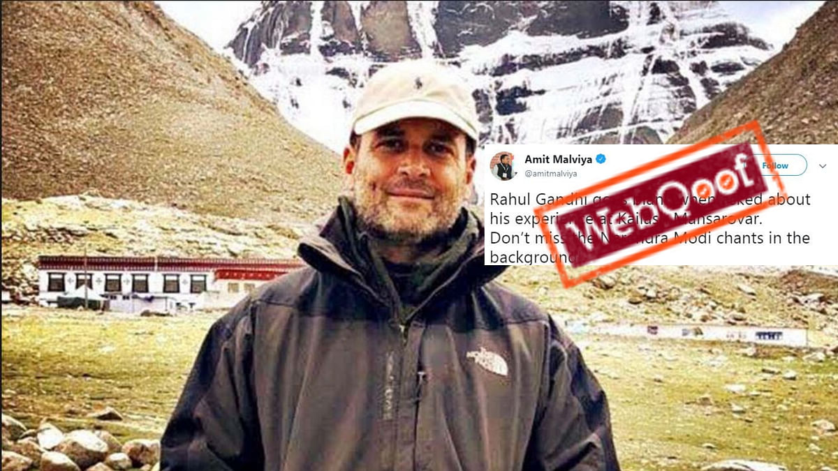 Did Rahul Go 'Blank' When Asked About Kailash Yatra? No