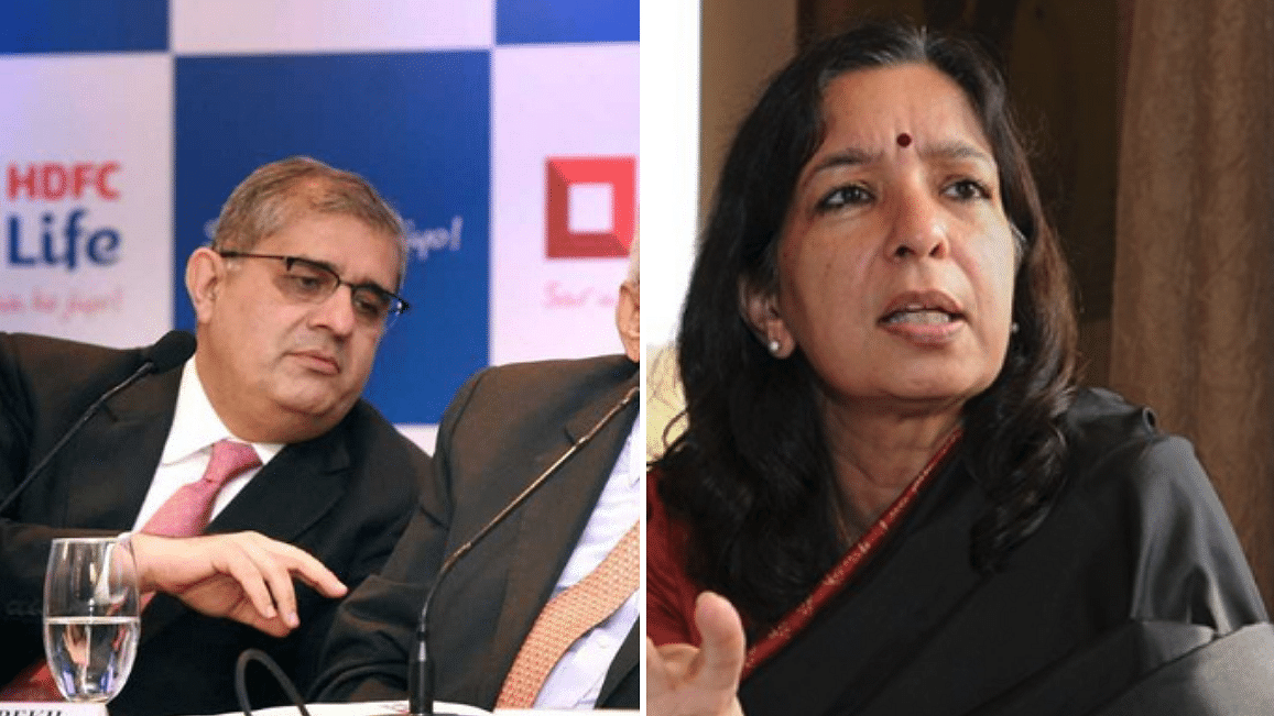 Amitabh Chaudhry (Left) and Shikha Sharma (right).
