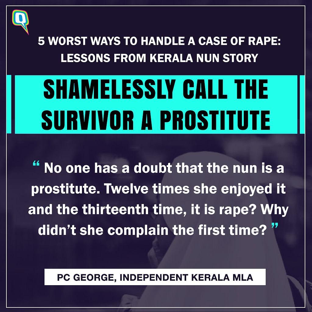 The Kerala Nun Rape Case Shows Us How NOT to Treat Survivors