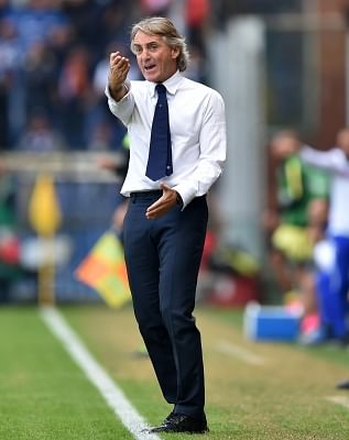 Roberto Mancini. (Xinhua/Alberto Lingria/IANS)
