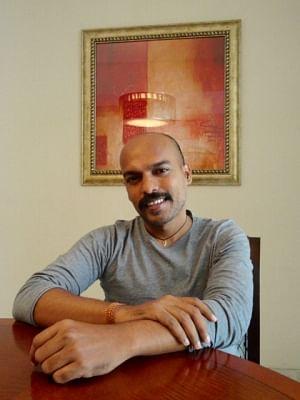 Lyricist Prashant Ingole.