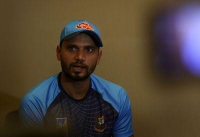 Dubai: Bangladesh captain Mashrafe Mortaza addresses during a press conference on the eve of Asia Cup 2018 final between India and Bangladesh; in Dubai, UAE on Sept 27, 2018. (Photo: Surjeet Yadav/IANS)