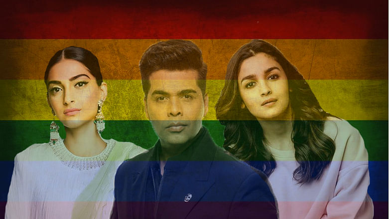 Sonam Kapoor, Karan Johar and Alia Bhatt are among celebs who reacted to the Section 377 verdict.