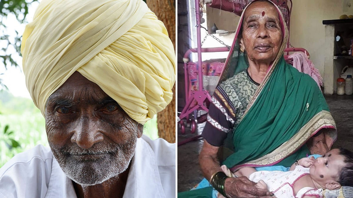 Ganpati Yadav and his 85-year-old wife Vatsala – a still-active homemaker who cooks and cleans daily – live in a spartan dwelling.