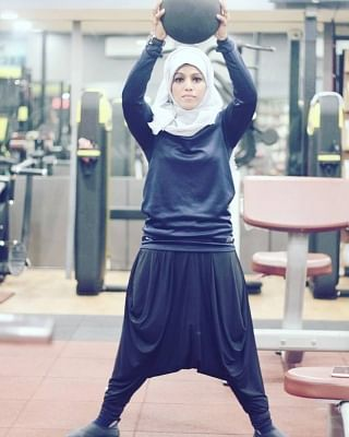 23-year-old Majiziya Bhanu is the only Muslim bodybuilder in India who always sports a hijab when she trains or when she performs on stage.