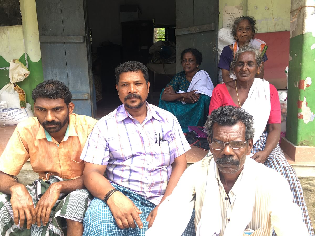 Few of the 71 people who spent 3 nights on a terrace waiting for help.