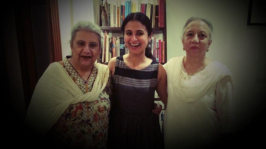 Nuzhat Arshad, Rasika Dugal and Nusrat Jalal.