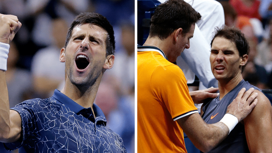 Novak Djokovic will next face Juan Martin del Potro in the final of the US Open on Sunday night. del Potro advanced to the final after Rafael Nadal retired hurt from their semi-final.