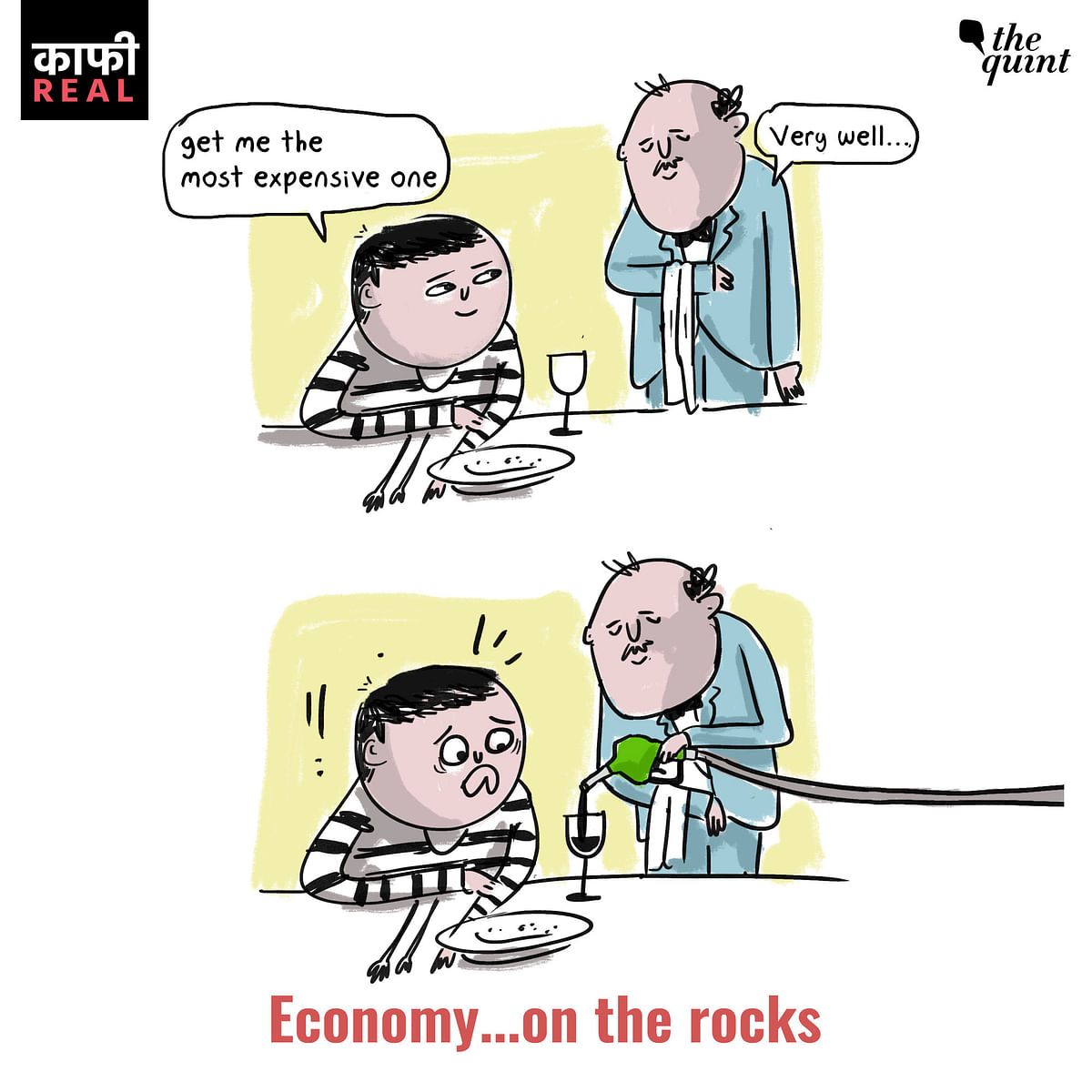This Cartoon on the Fuel Price Hikes Will Make You Laugh, in Pain