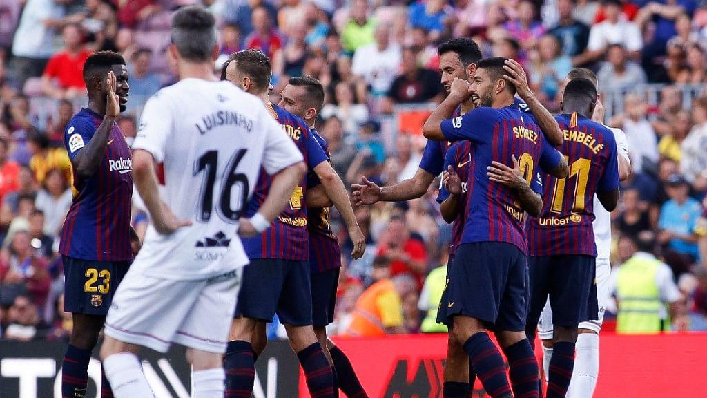 La Liga: Huesca Take Early Lead vs Barcelona Before Losing 8-2