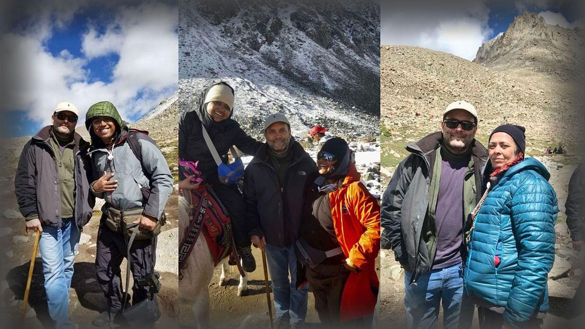 Rahul Gandhi Shares Photos, Videos Of His Kailash Mansarovar Yatra