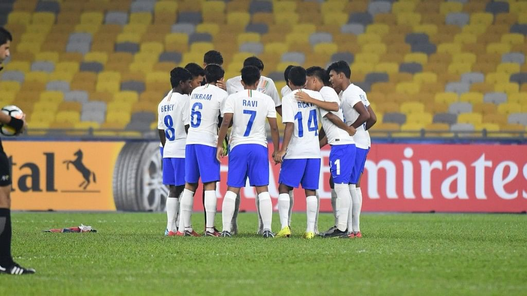With the draw, India finished runners-up in the group, and are likely to face Korea Republic in the next stage.