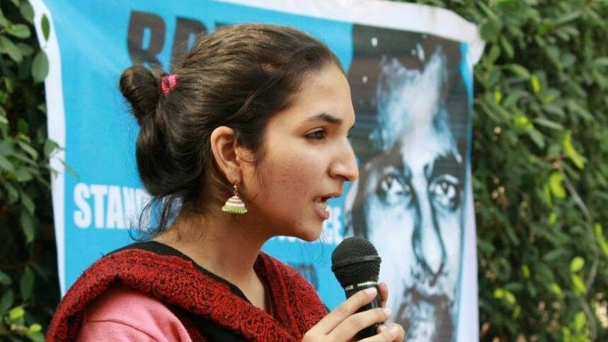 DU AISA President Alleges She Was Slapped by ABVP Members