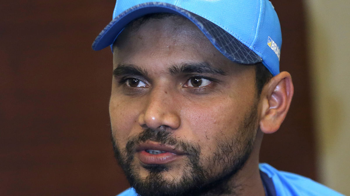 Bangladesh's captain Mashrafe Mortaza during a press conference on the eve of the final of the Asia Cup against India in Dubai on Thursday.