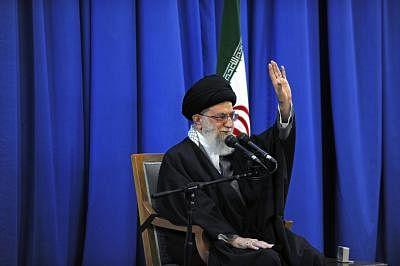 Ayatollah Ali Khamenei.(File Photo: Xinhua/Official Website of the Iran