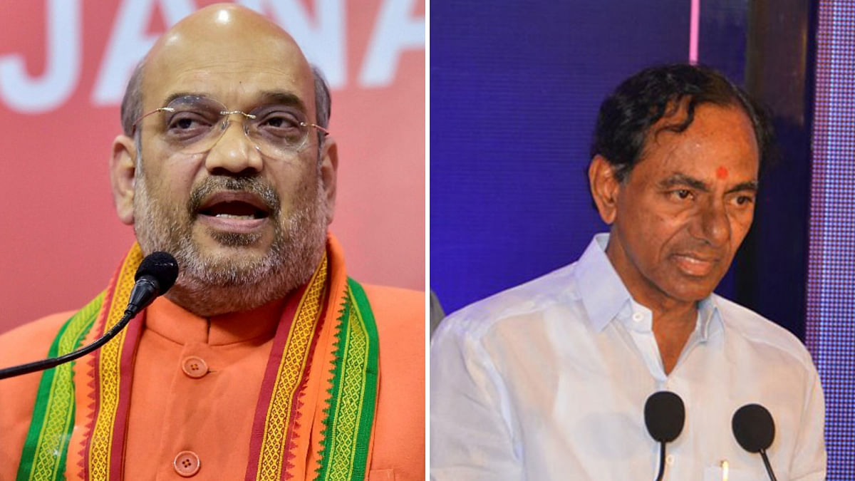 No Tie-up With TRS, BJP to Contest Telangana  Polls Alone: Shah