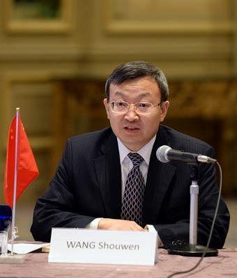 Wang Shouwen. (Xinhua/Ma Ping/IANS)