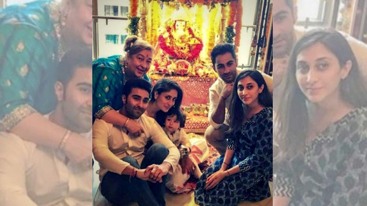 Kareena and Taimur with the Jains.
