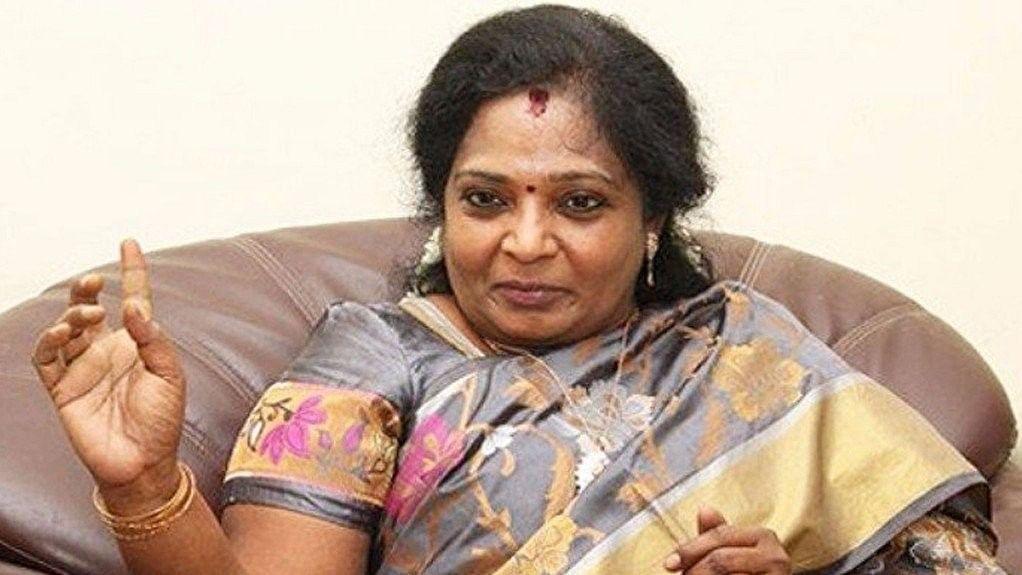File photo of Tamil Nadu BJP Chief Tamilisai Soundararajan.